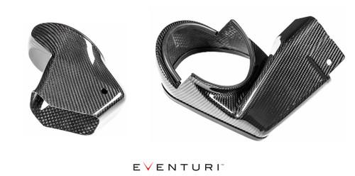 Eventuri Carbon Sealed Duct Upgrade Kit for V1 intake - BMW F8X M3/M4