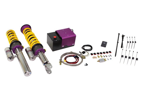 KW HLS 2 Hydraulic Lift System Complete with Variant 3 Coilovers - AMG GT w.out electronic dampers