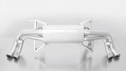 Remus Rear Silencer Valved controlled by OEM system - Uses OE Tailpipes - R8  4S 5.2 FSI
