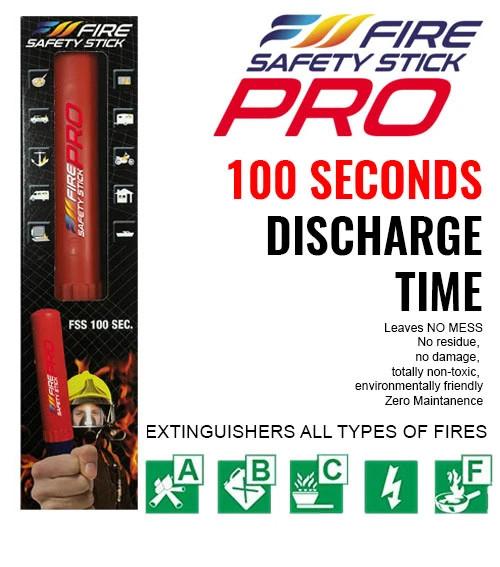 Fire Safety Stick Pro 100 Seconds