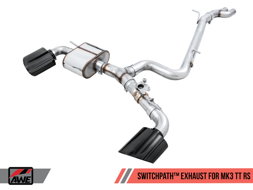 AWE Tuning SwitchPath Exhaust System - TT-RS (8S)
