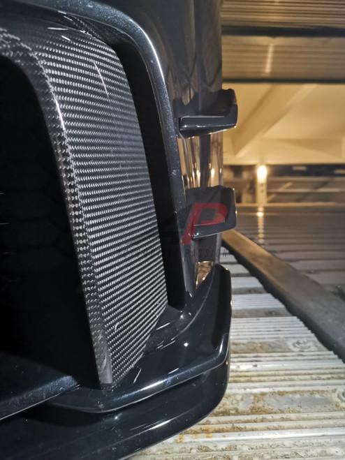 AP Design Dry Carbon Fibre L shaped Front Blades - TTRS 8S