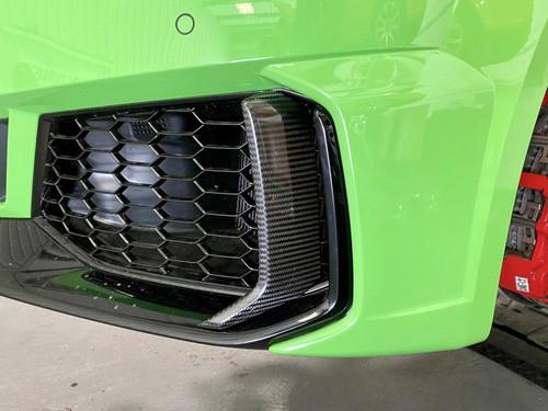 AP Design Dry Carbon Front Elements - TTRS 8S FL