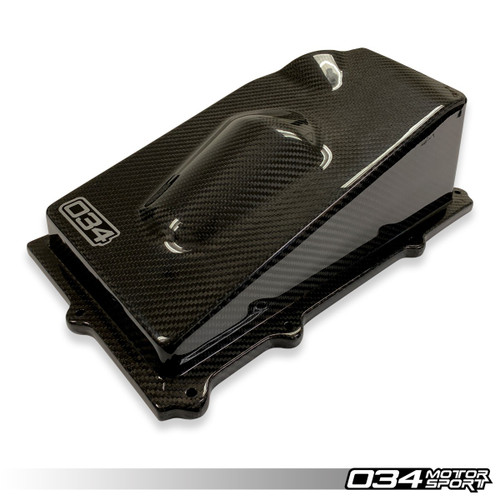 034Motorsport Carbon Fibre Closed Top Upper Airbox - TTRS 8S/RS3 8V Daza