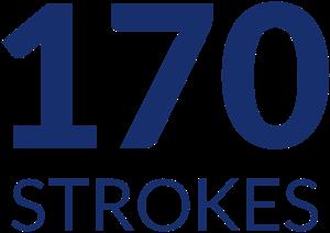 170 strokes