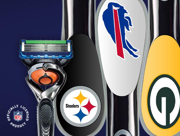 Gillette ProGlide Shield NFL Razor