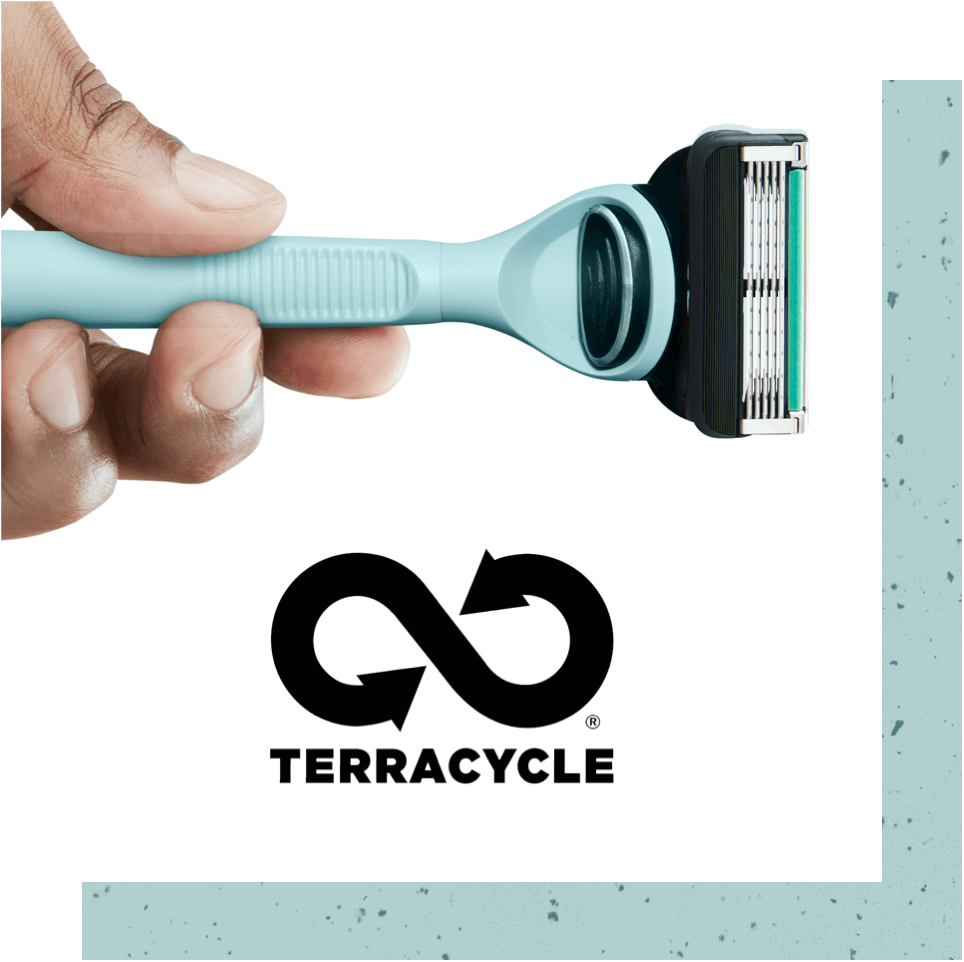 Shaving Razors are recyclable through Terracycle