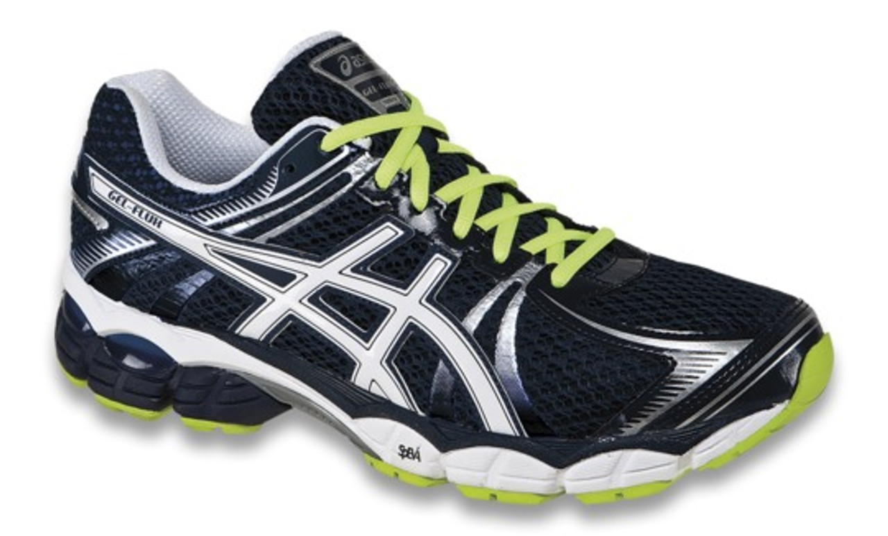 Men's Asics Gel Flux Running Shoe NavyWhiteYellow
