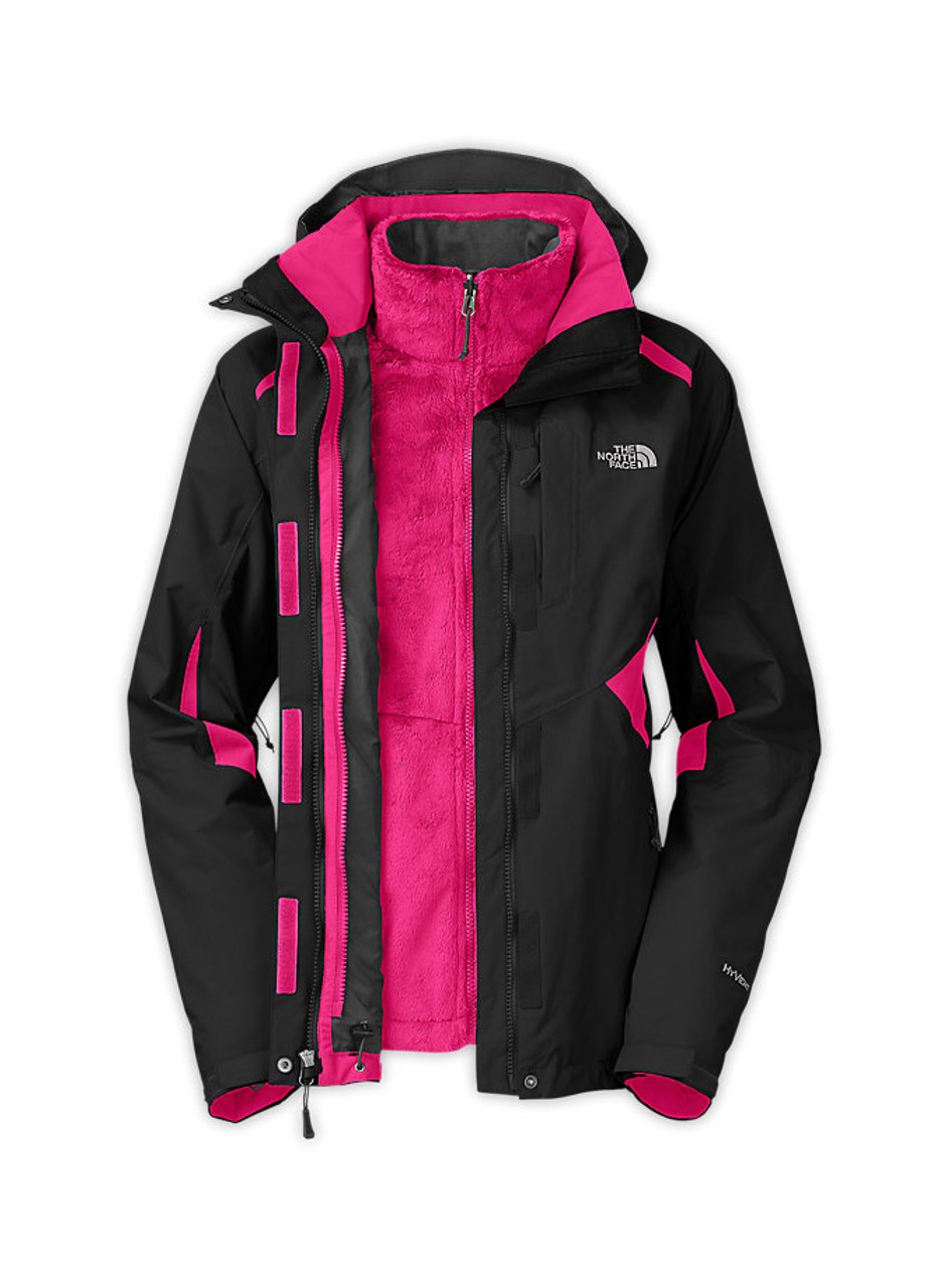 Boundary Jacket Tnf Blacktnf Triclimate Pink North Face Womens The Blackpassion 8n0wkOPX