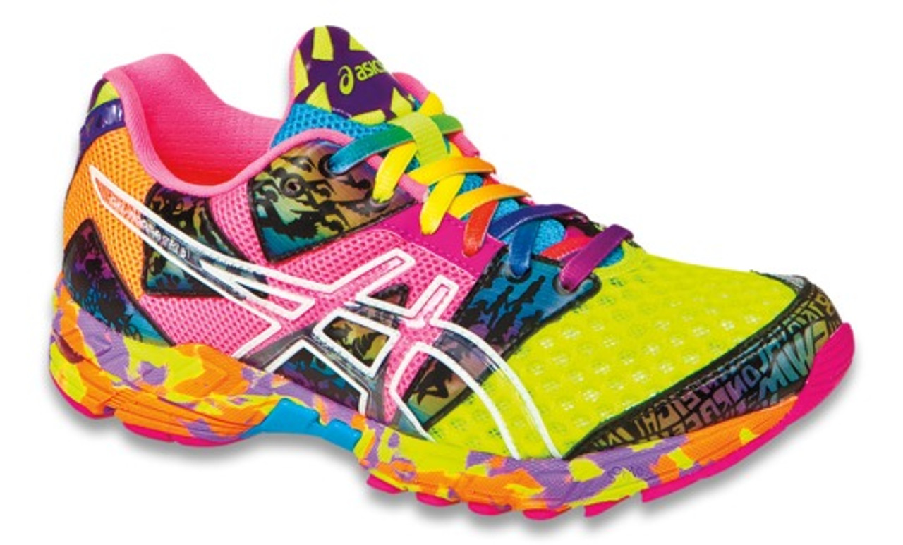 outlet store 6df9b 7bcfe Womens Asics Gel-Noosa Tri 8 Training Shoe Flash Yellow Flash Pink Multi -  Sieverts Sporting Goods