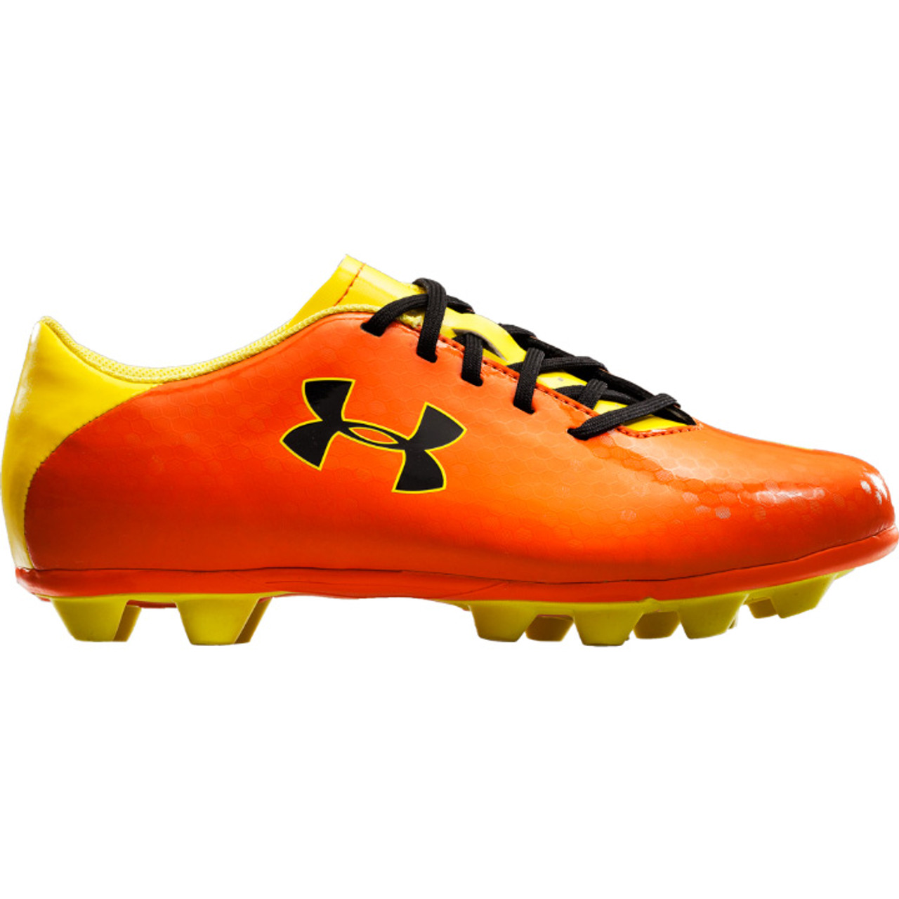 2a94f23cf Boy's Under Armour Blur III HG Youth Soccer Cleats Vivid/Sunbleached/Black  - Sieverts Sporting Goods
