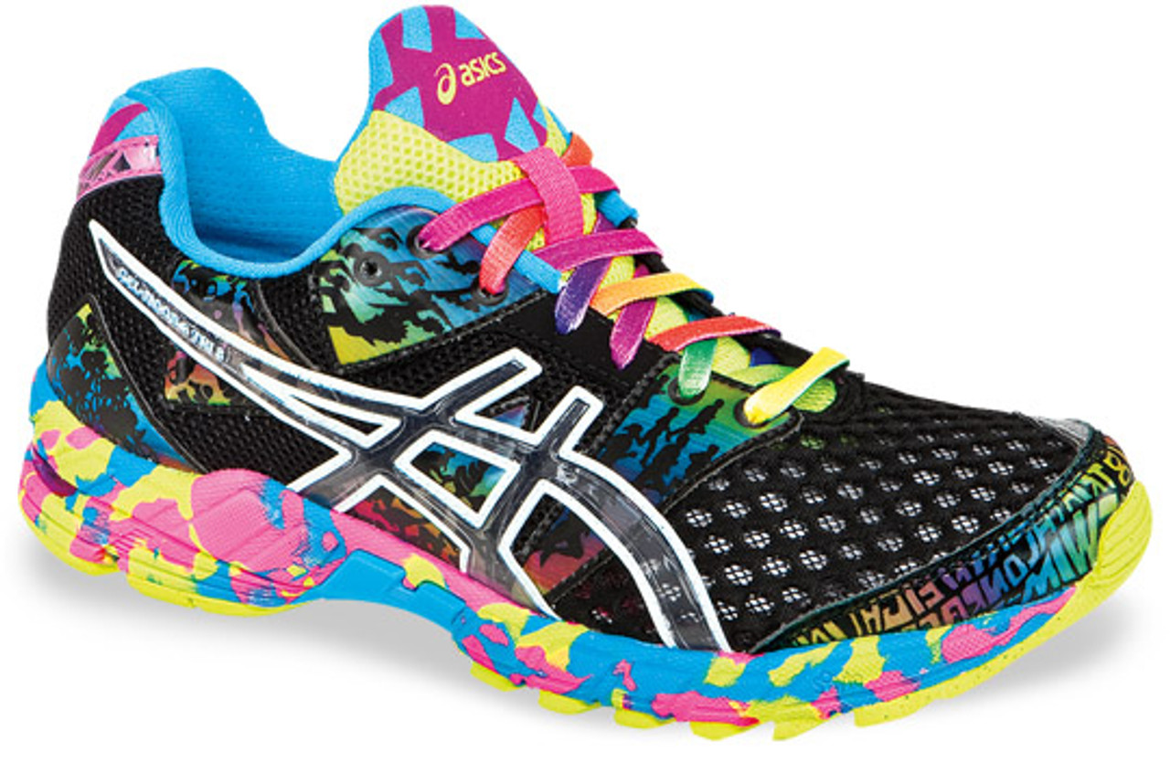 lowest price 0d4d8 b4ba3 Womens Asics Gel Noosa Tri 8 Running Shoe Black Onyx Confetti - Sieverts  Sporting Goods