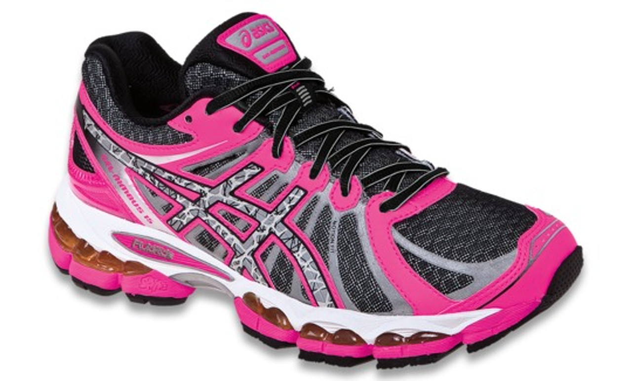 design de qualité 2331f d5a3d Womens Asics Gel Nimbus 15 Lite Show Running Shoe Black/Reflective/ Hot  Coral