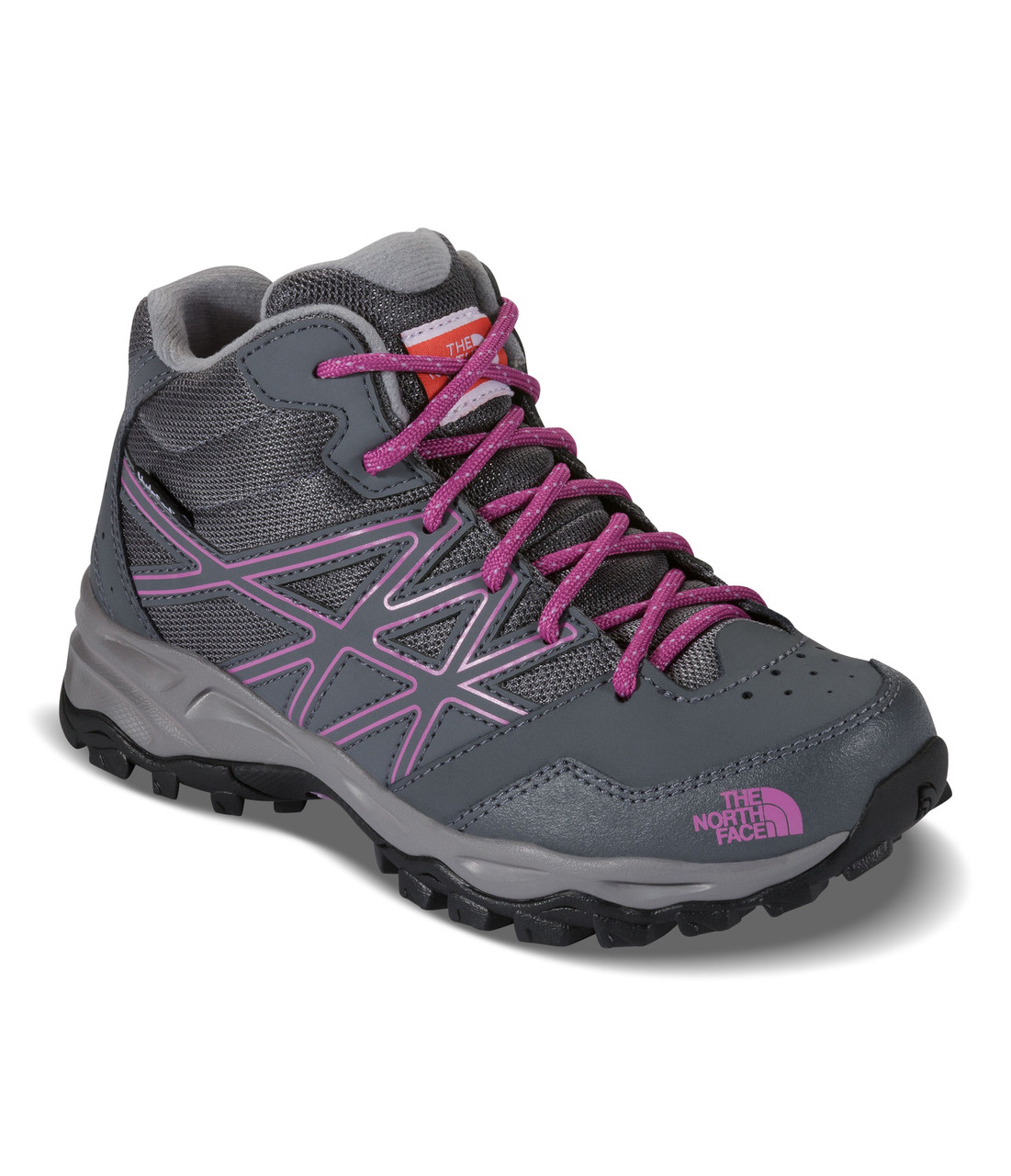 d07fef75a1a7 The North Face Youth Hedgehog Hiker Mid Waterproof Hiking Shoe