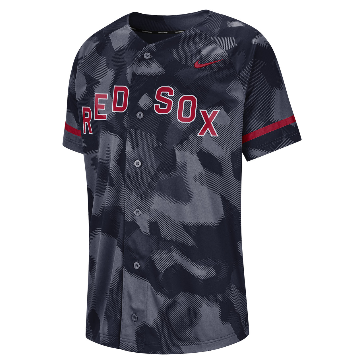 competitive price 5a5eb 7b3ce Men's Nike MLB Boston Red Sox Dry Jersey Top