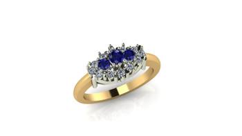 Orion- Blue Sapphire