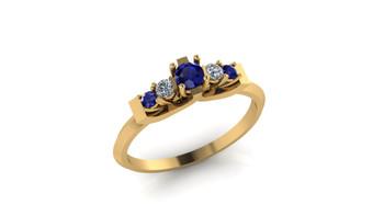 Cherish 3- Blue Sapphire