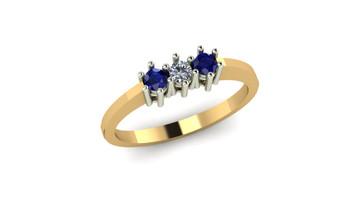 Treasure- Blue Sapphire