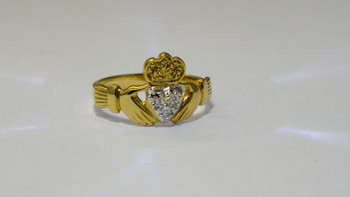 Diamond Claddagh