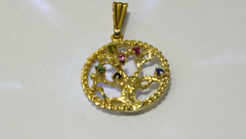 1137 3-7 Tree of Life Pendant