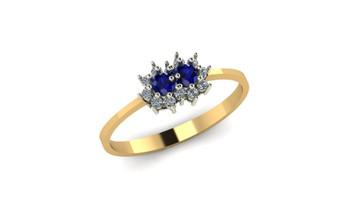 Nebula- Blue Sapphire