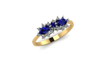 Dragonfly- Blue Sapphire