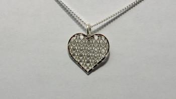 259-51 Pattern Heart/Chain