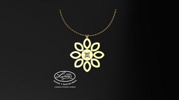Sunflower- Pendant