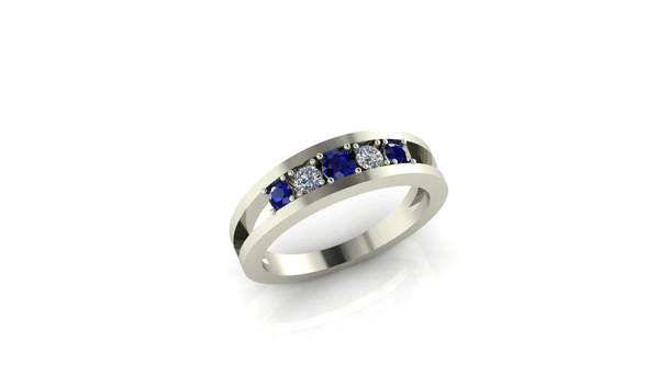 Quint- Blue Sapphire