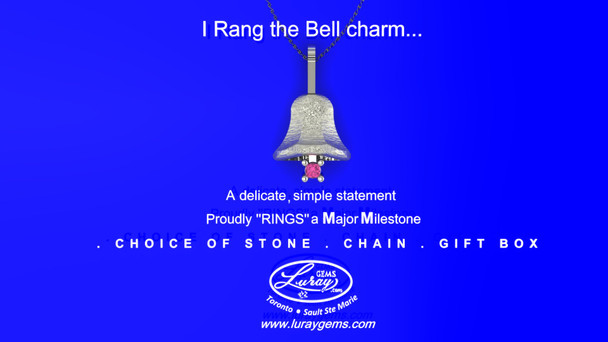 I Rang the Bell Charm