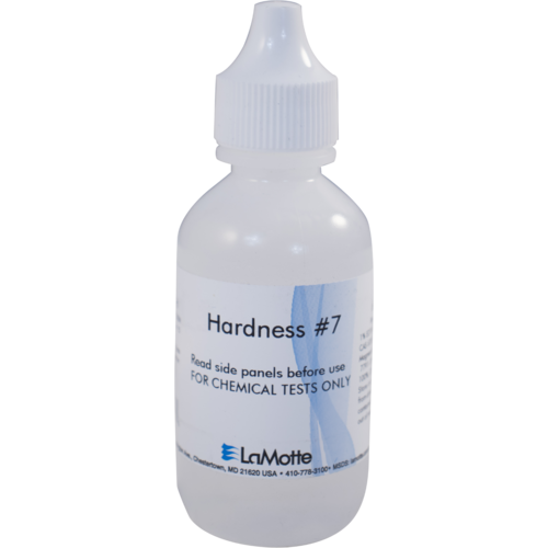 Replacement Hardness Reagent #7 (4487WT-H) for the LaMotte Water Test Kit (7189-01).