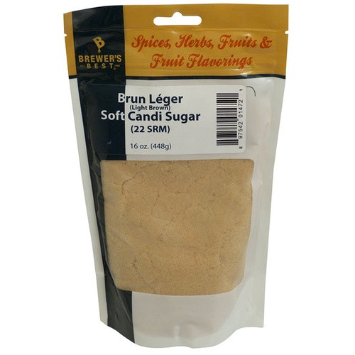 Use this soft candi sugar in all of your Belgian beers to impart a wonderfully soft and well-rounded flavor that you have never had in your beers before! A by-product of the rock candi and candi syrup making processes, soft sugar is made up of tiny crystals of beet sugar that have been removed from the syrup by way of a centrifuge. These crystals have a more intense flavor than the traditional sugar rocks American brewers are used to seeing. Use this sugar as a direct replacement for those outdated rocks! This is the same candi sugar used by the famous Rochefort brewery in Belgium.  California Recipients: WARNING: Cancer and Reproductive Harm - www.P65Warnings.ca.gov