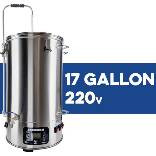 BrewZilla All Grain Brewing System With Pump - 65L/17.1G (220V)