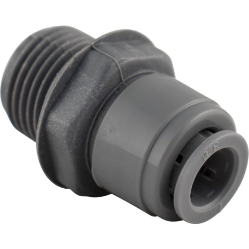 Duotight Push In Fitting - 9.5 mm (3/8 in.) x 1/2 in. BSP