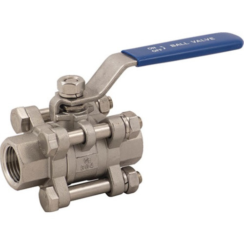 3 Piece Ball Valves - Stainless 1/2 in.
