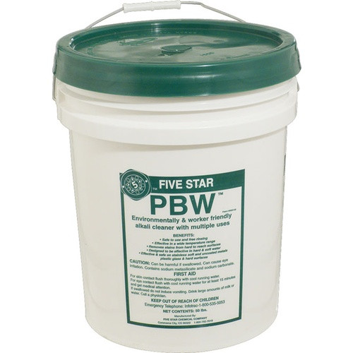 Five Star PBW Cleaner - 50 lbs