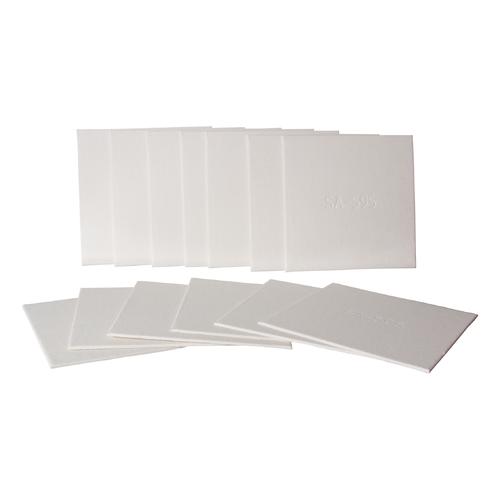 Filter Sheets - 20 cm x 20cm (0.8 Micron)