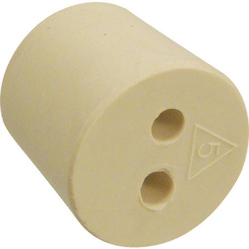 #5 Rubber Stopper - 2 holes