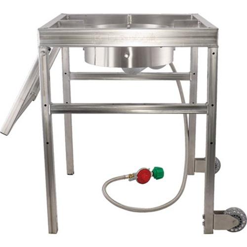 BrewBuilt AfterBurner™ - Propane Brewing Burner with Handle and Casters