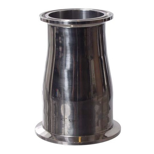 Stainless Tri-Clamp Reducer - 2 in. T.C. x 2.5 in. T.C.