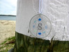 Sea Glass Monogram Sun Catcher Ornament