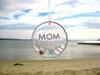 Mom Sea Glass Sun Catcher Ornament
