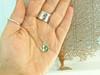 Sea Glass Anchor Necklace