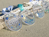 Dancing Starfish Sea Glass SunCatcher Ornament