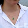 Single Bezel Necklace - You Choose The Color