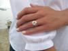 Galia - Sea Glass Mother's Ring