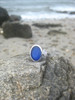 Modern Chic Sea Glass Engagement Ring