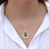 Wavelet Sea Glass Necklace
