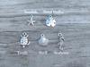 Nautical Charm Sea Glass Necklace