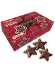 Milk Chocolate Star Cookies